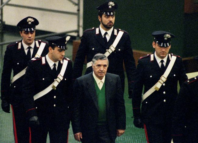 Furore in Italy over possible freeing of Mafia boss to 'die with dignity'