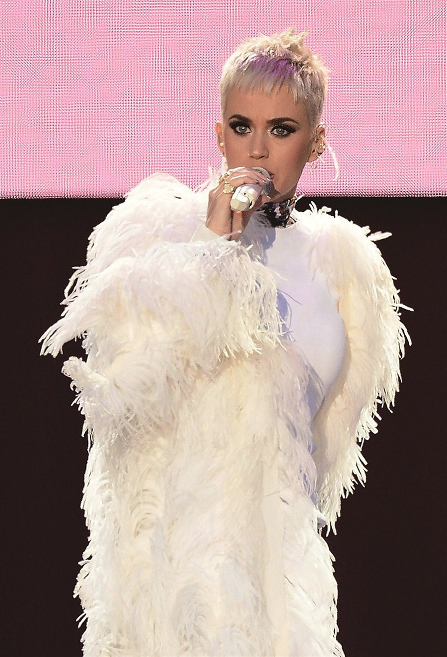 Katy Perry returns as a sultry 30-something