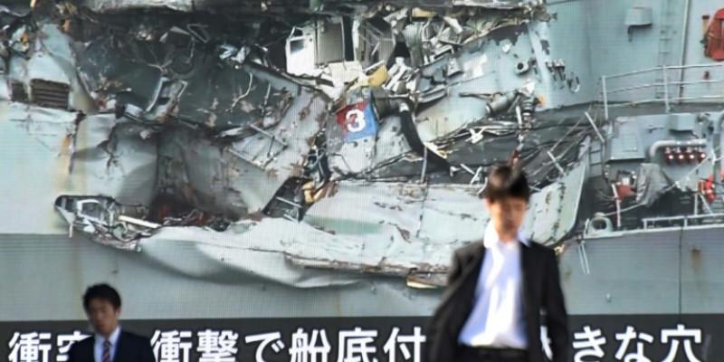 US Navy probes destroyer crash that killed seven in Japan