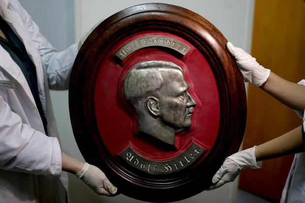 Hidden trove of suspected Nazi artifacts found in Argentina