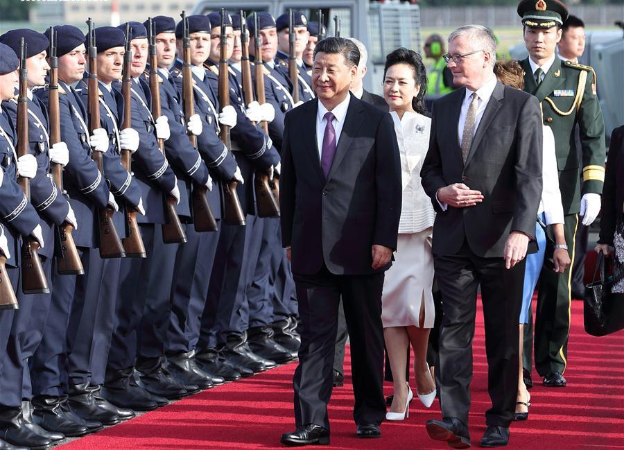 Xi says China supports EU to be 'united, stable, prosperous, open'