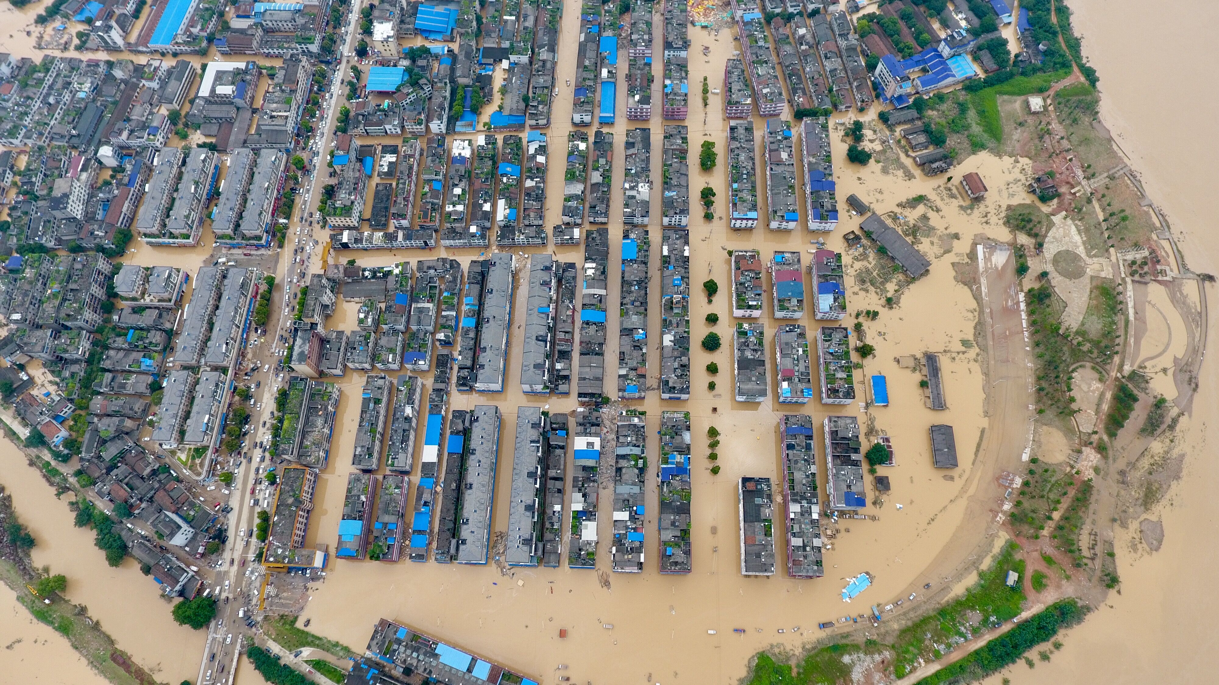 44 dead or missing in flood-stricken Chinese county