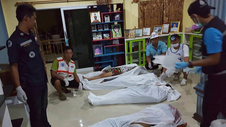 Gunmen in Thai tourist province kill family execution-style