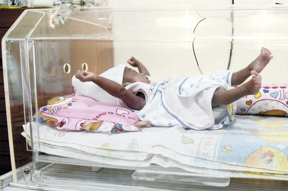 Free incubators save lives of Indonesian babies