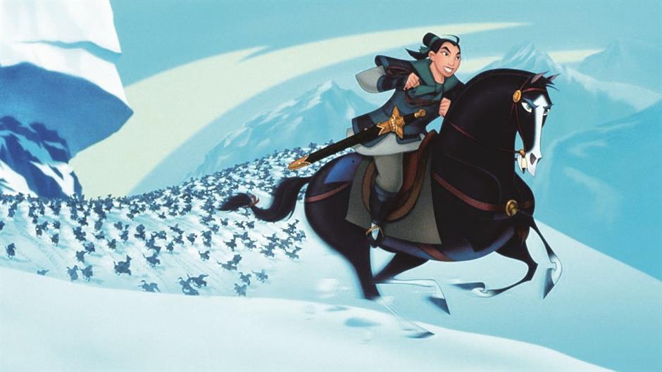 Mulan, a nation's historic heroine