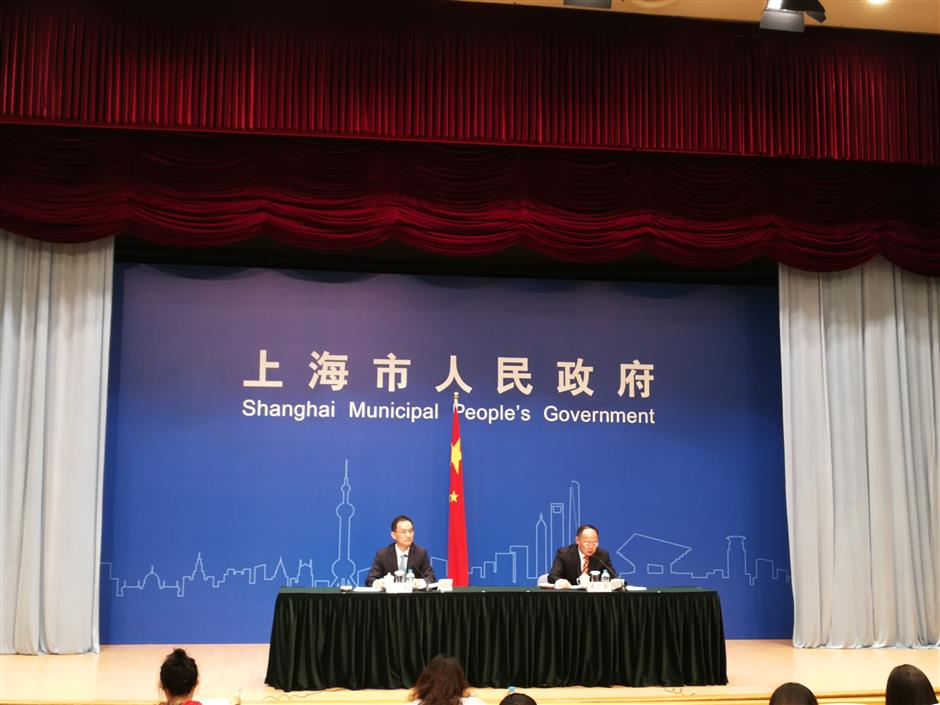 Shanghai's GDP up 6.9% in H1