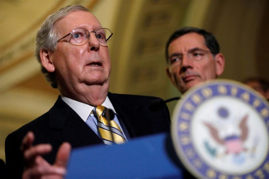 US Republicans left scrambling after health bill sinks again