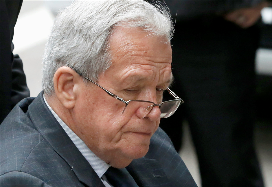 Federal records: Hastert released from prison in Minnesota