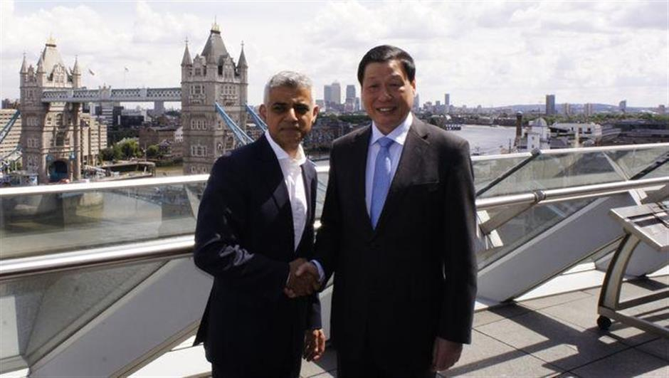 Ying Yong meets London mayor, other officials on UK visit