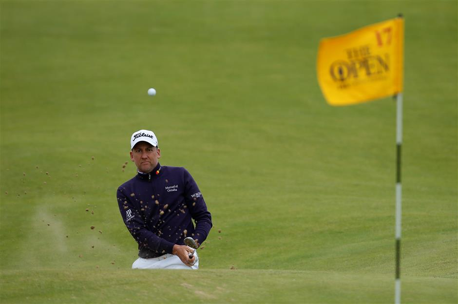 Poulter making another run at the Claret Jug