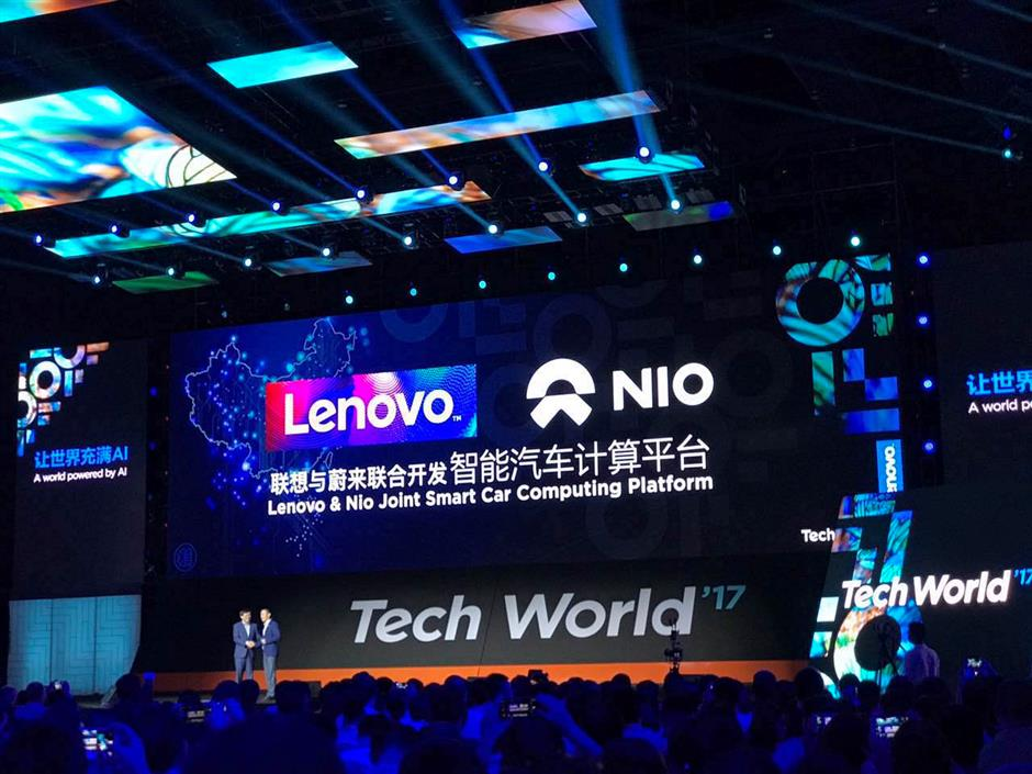 Lenovo aims to be computing firm