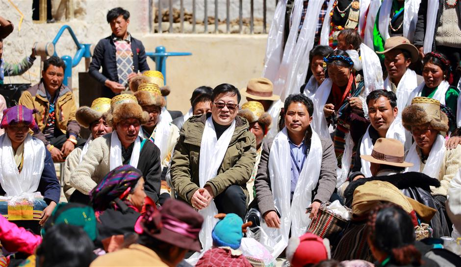 Aid work at high altitude