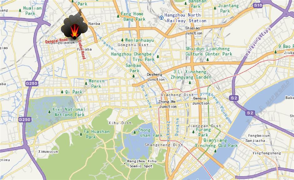 2 killed, 46 injured in gas explosion in Hangzhou