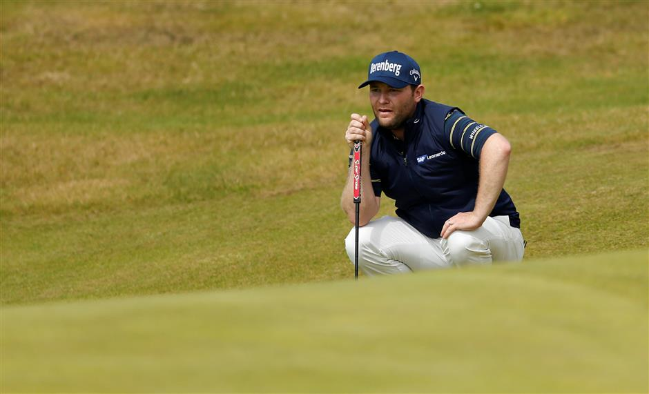 Grace sets major championship record with 62 at British Open
