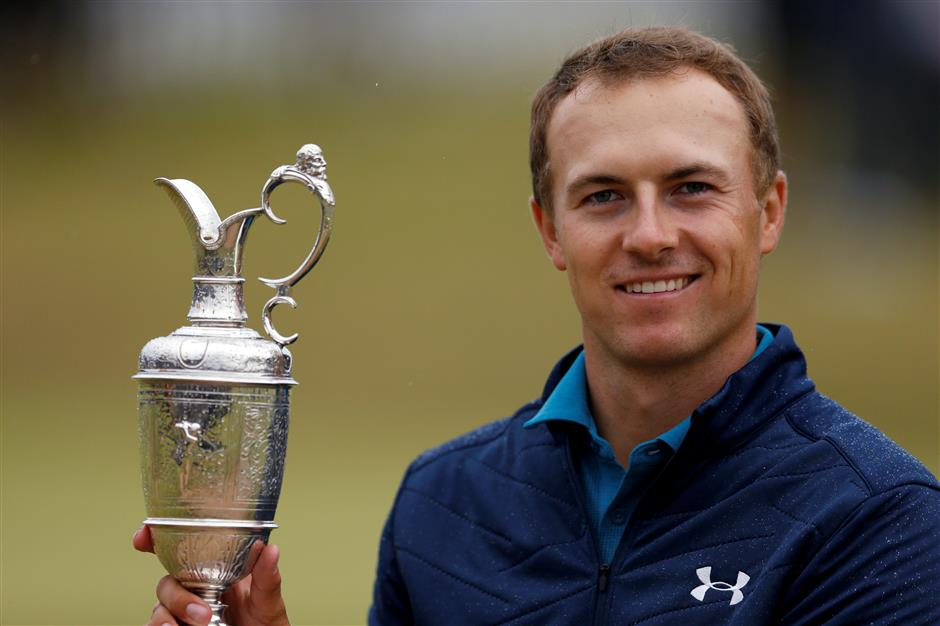 Greats salute Spieth's British Open triumph