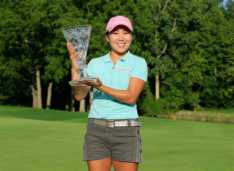 Kim's sizzling 63 delivers LPGA Marathon victory