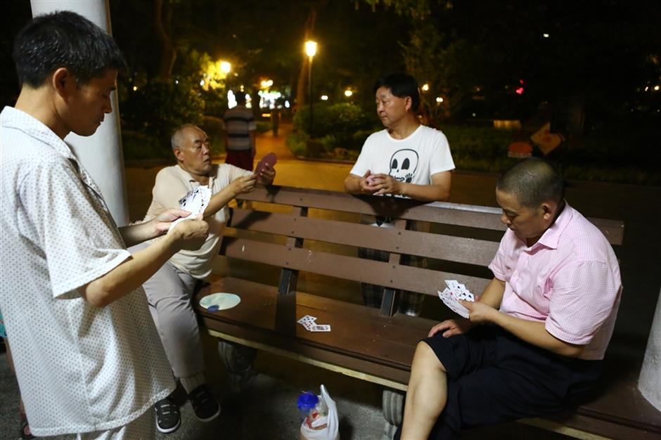 Want to beat the heat? Chill out in a park
