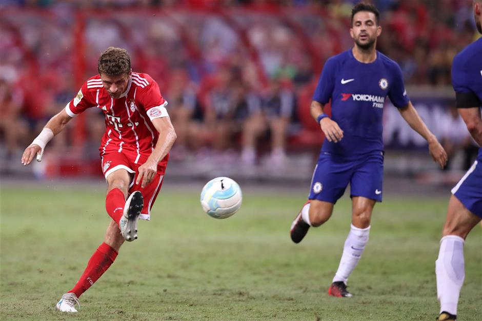 Morata debut upstaged by two-goal Muller