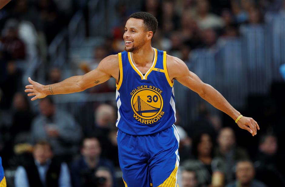 Curry, Warriors finalize bumper US$201 million, 5-year deal