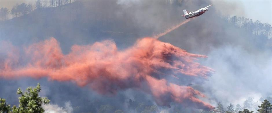 French firefighters near to containing dramatic wildfire