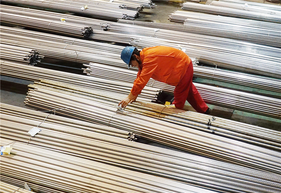 China's industrial profits up 22 pct in H1