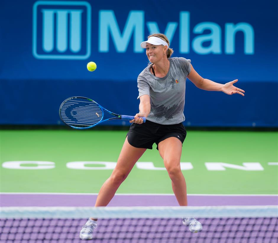 Passion for game grew during doping suspension, says Sharapova