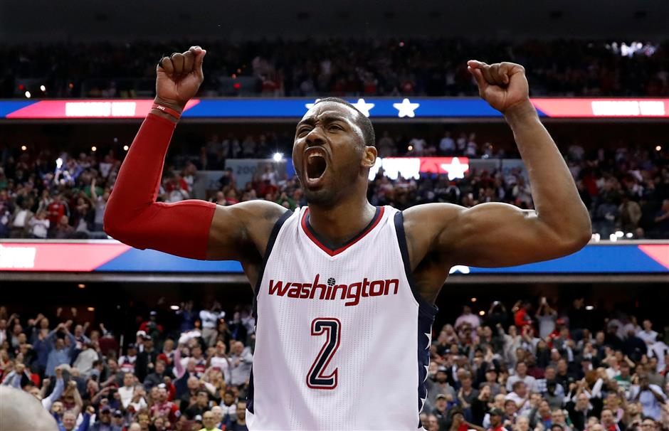 Wizards announce contract extension for Wall