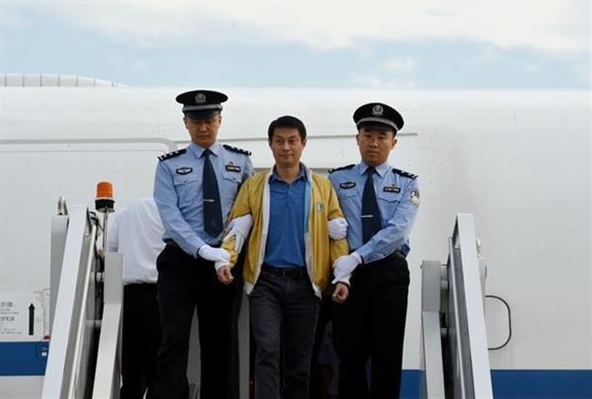 Red Notice graft fugitive Ren Biao returns to China
