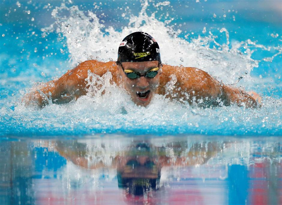Testing time for Dressel as American nears compatriot Phelps's medal-haul record