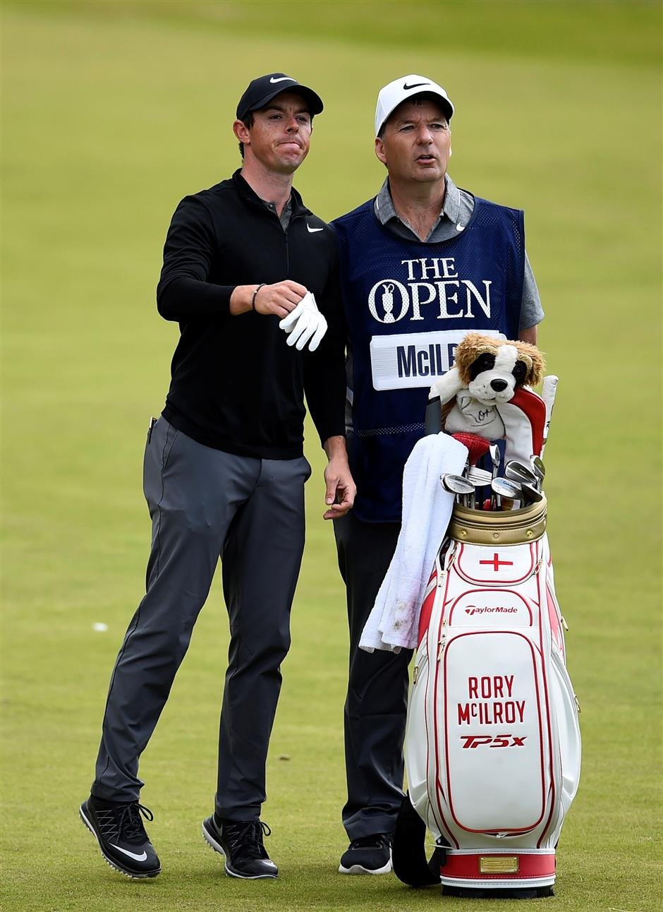 Source: McIlroy fires long-time caddie Fitzgerald