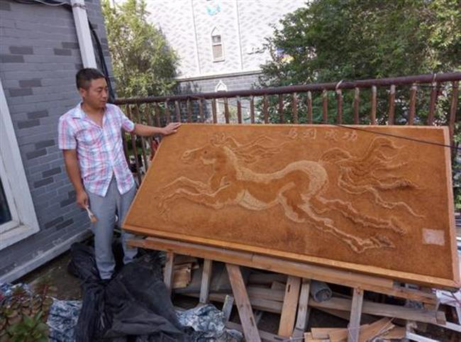 Foreigner inspires Changchun man to try making art, the internet rejoices