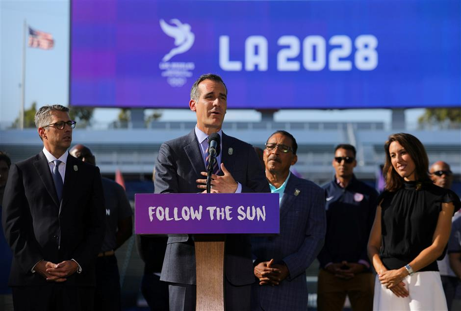 Paris stops short of claiming Olympic victory after LA announcement