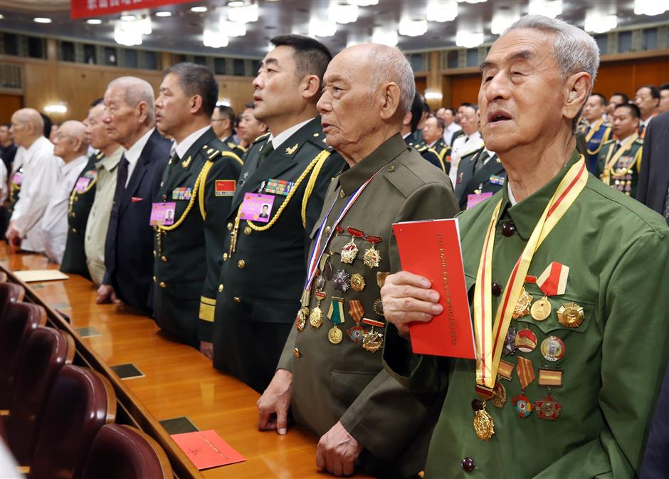 China loves peace but there will be no compromise on sovereignty