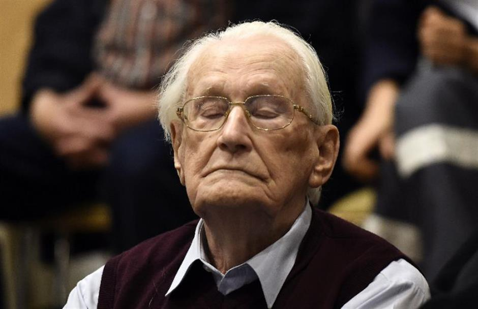 'Bookkeeper of Auschwitz' fit to serve sentence