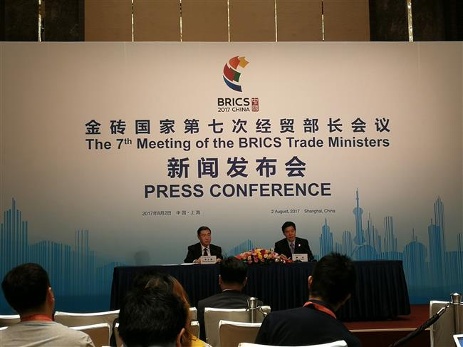 BRICS trade ministers meeting bears fruitful results