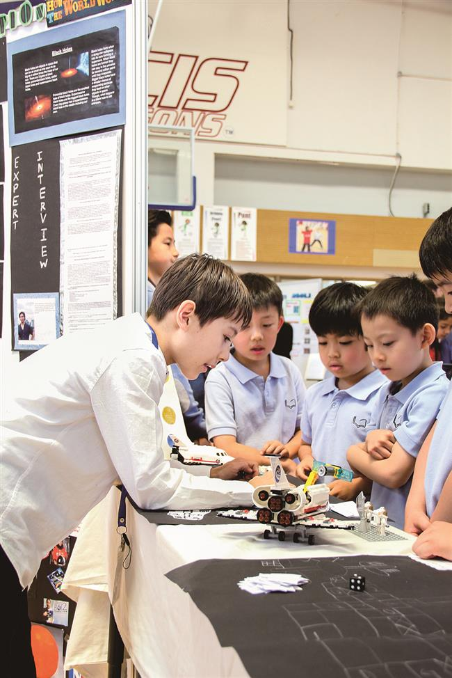 Knowledge and teamwork on display at the PYP exhibition