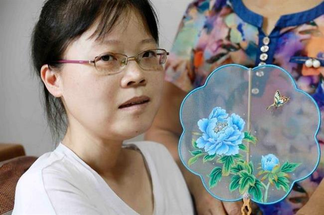 Disabled artist wows the world with her award-winning paintings