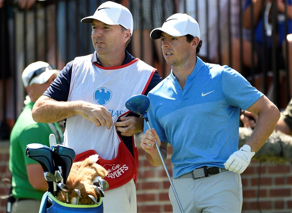 McIlroy to use best friend as caddie for at least 2 weeks after parting ways with Fitzgerald