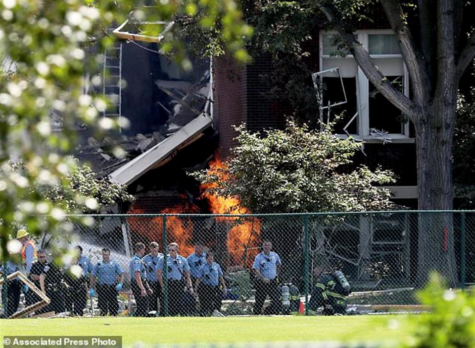 NTSB investigates blast that killed 2 at Minneapolis school