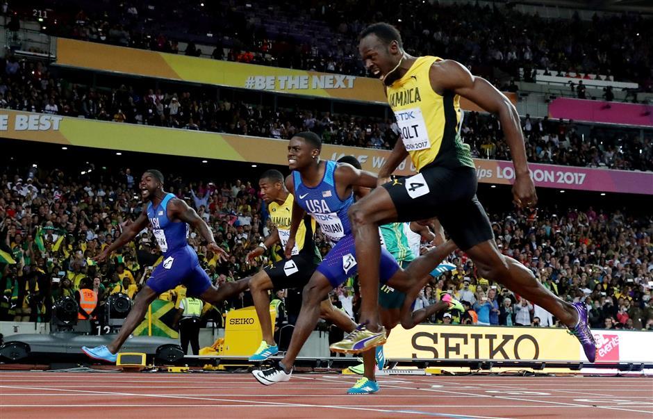British media lay into Bolt's farewell Gat-crasher