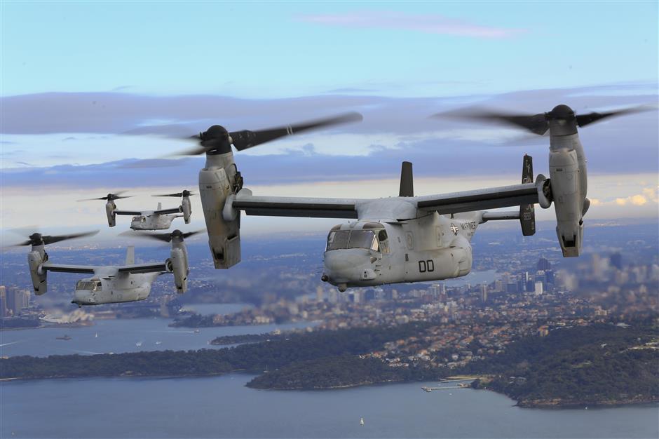 US calls off rescue for three marines missing off Australia
