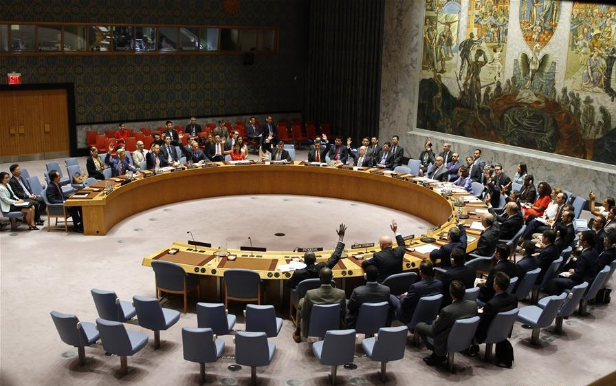 UNSC adopts resolution in response to DPRK's two ICBM tests in July