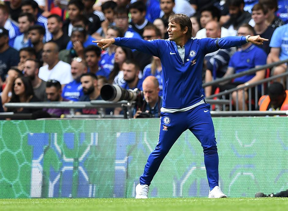 Restless Conte fights to avoid sophomore slump