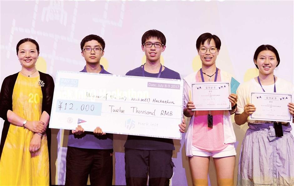 Students' 24-hour hackathon to pioneer their invention