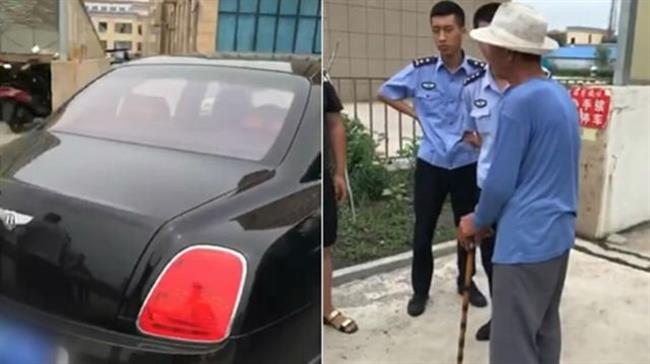 Bentley owner offers to pay own repair fees after old man scratches bumper