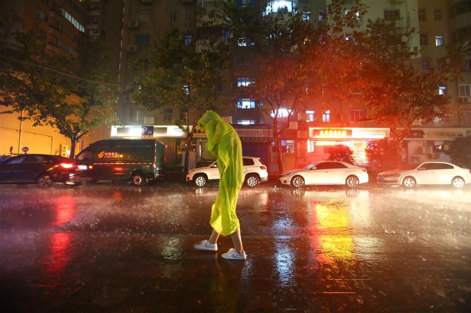 Cooler days are coming and so is the rain