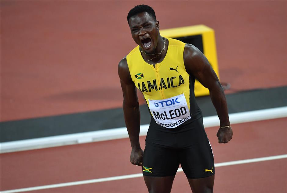 'Mr Silk' McLeod brings joy to Jamaica on Independence Day
