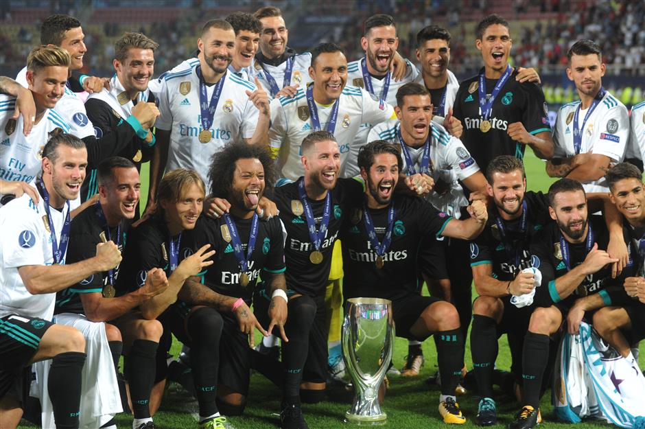 Zidane left with dilemma after Real's UEFA Super Cup success