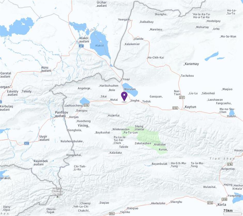 32 injured inXinjiang 6.6-magnitude quake