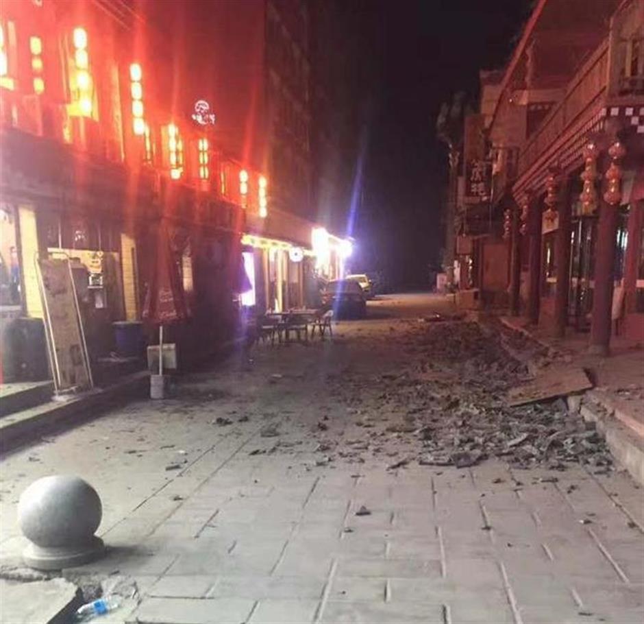 19 dead, 247 injured as 7.0-magnitude quake hits Sichuan Province